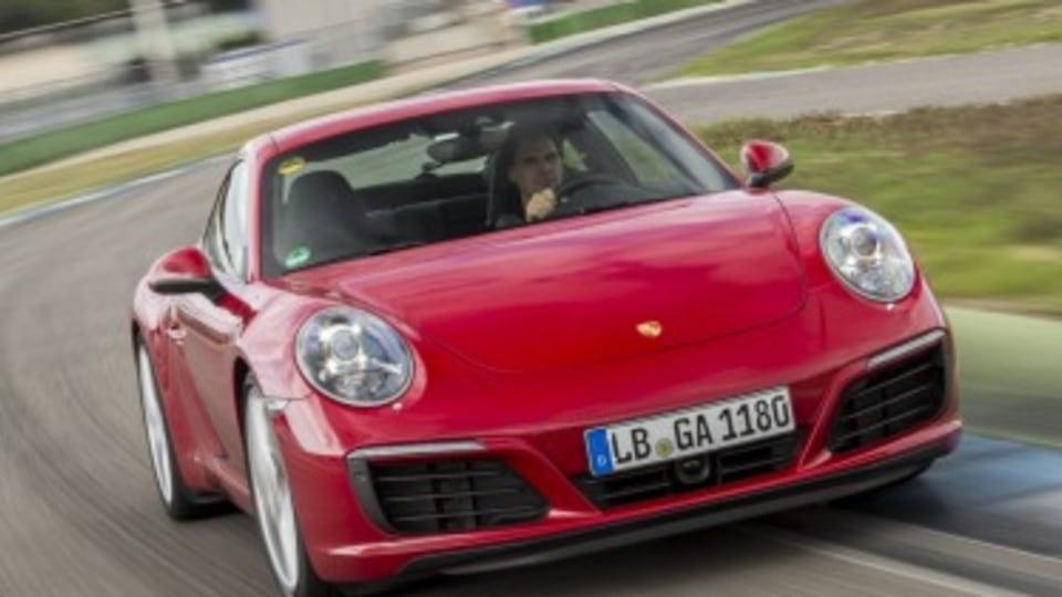 2016 Porsche 911 Carrera turbo 'taxi' ride