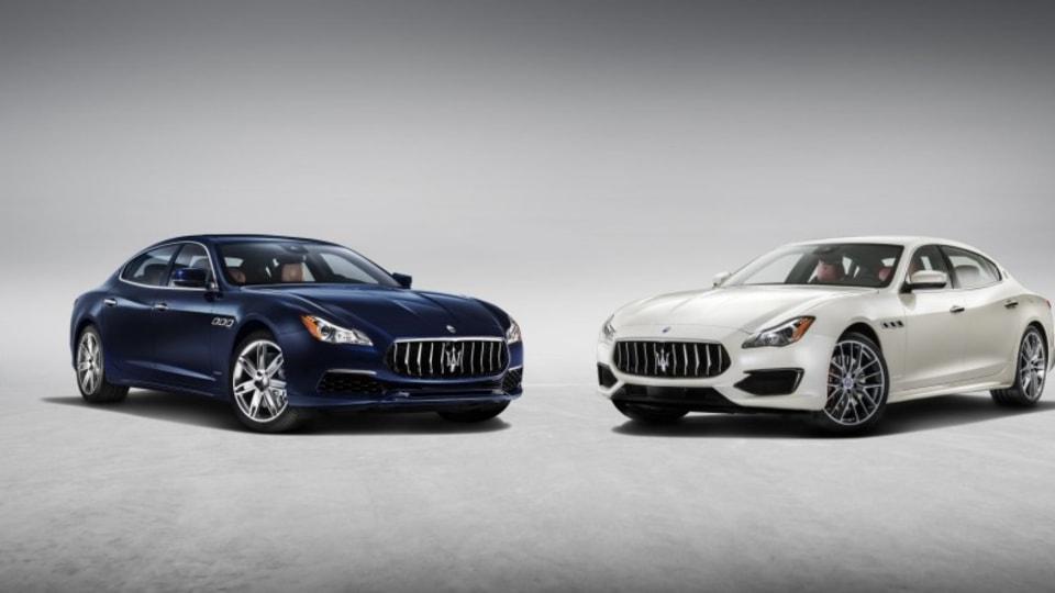 2017 Maserati Quattroporte.