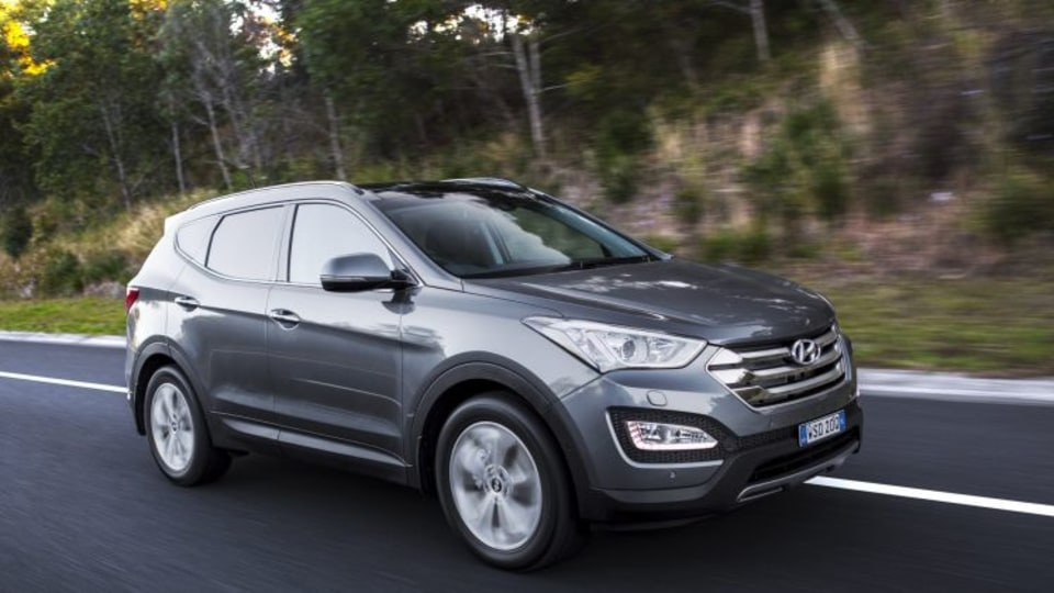 Game changing: the Sante Fe has helped change perceptions around Hyundai in Australia, the car maker says.