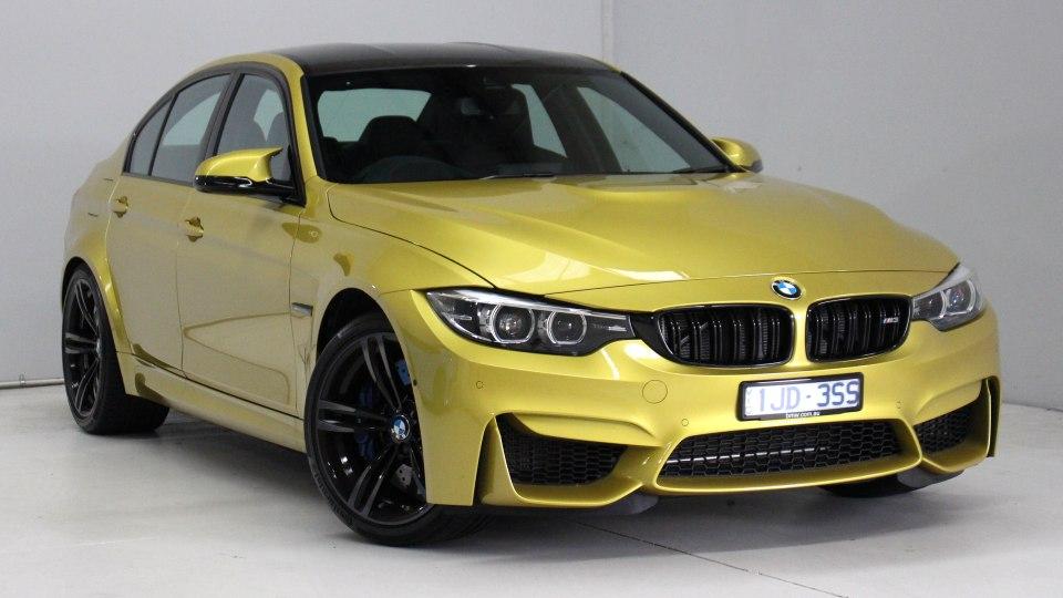 2018 BMW M3 Pure.
