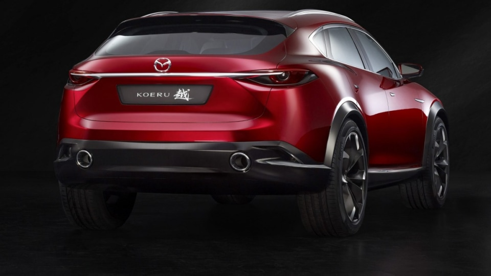Mazda has previewed its new CX-4 with its Koeru concept at the 2015 Frankfurt motor show.