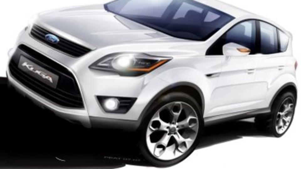 Ford Kuga breaks cover