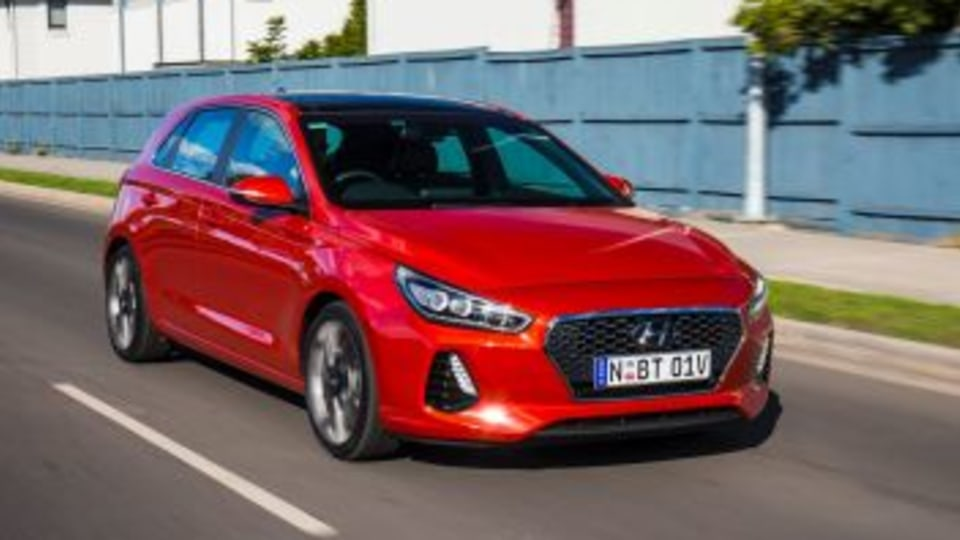 Small car comparison: Hyundai i30.