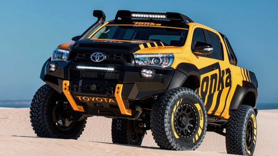 High-Performance TRD HiLux In The Works