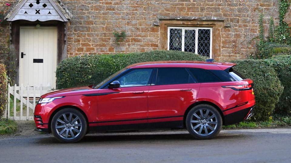 2019 Range Rover Velar.