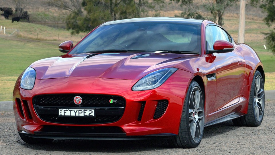 Jaguar F-TYPE Review: 2014 Coupe R