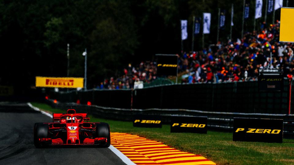 Sebastian Vettel won the 2018 Belgium Grand Prix.