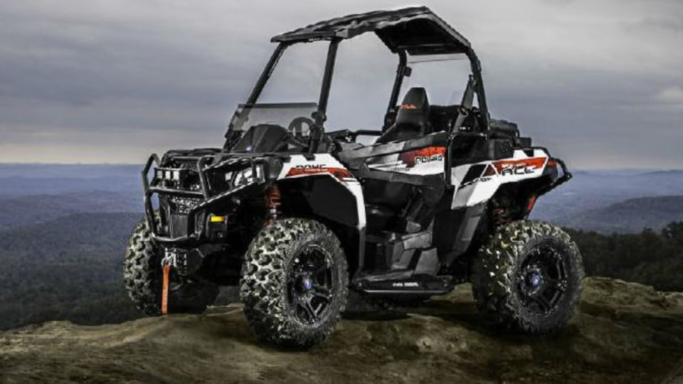 Polaris Sportsman ACE: New ATV With 'Sit-In' Chassis