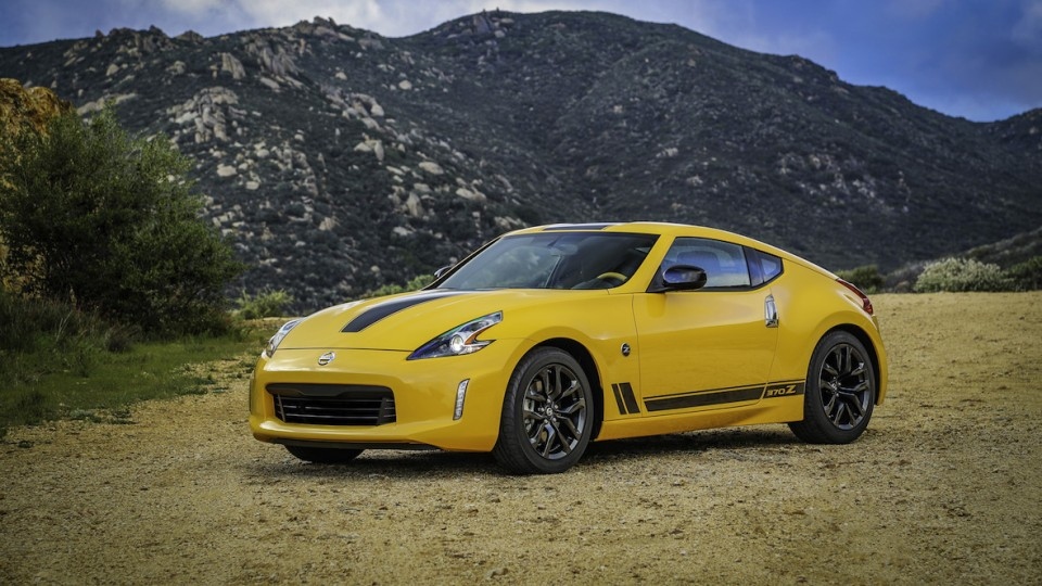 Nissan Goes Retro For 50th Anniversary Heritage Edition 370Z