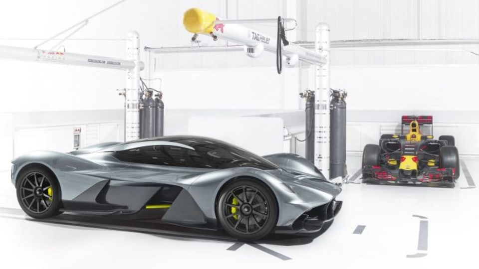 Aston Martin and the F1 Red Bull Racing have created the Valkyrie hypercar.