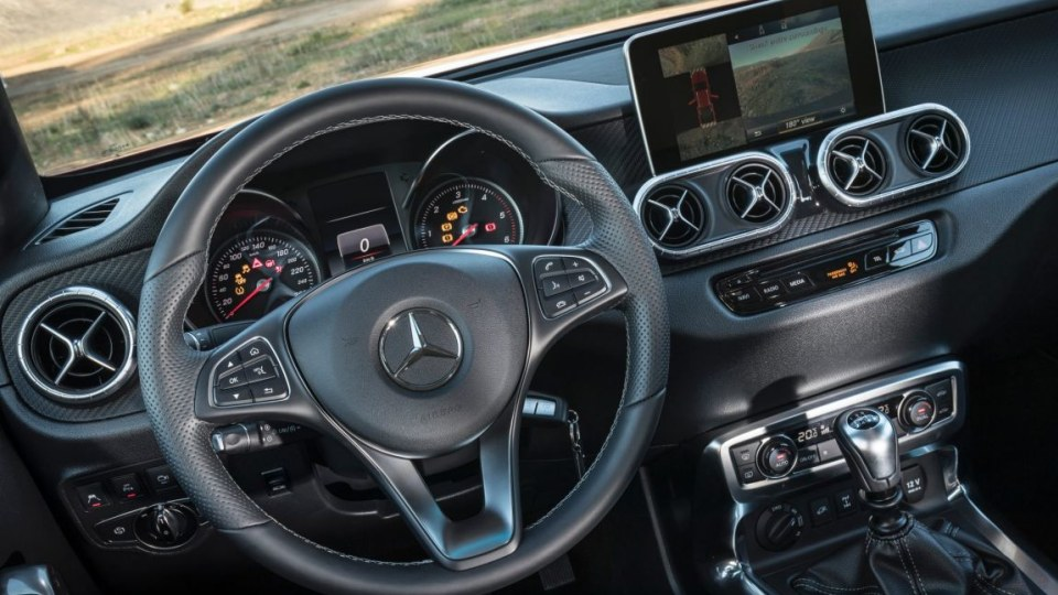 2018 Mercedes-Benz X-Class.
