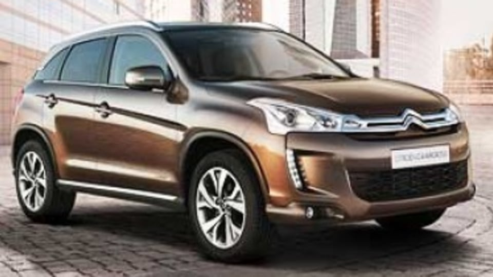 French brand Citroen will make a belated entry into SUV territory in the second half of 2012 with the local arrival of the C4 Aircross.