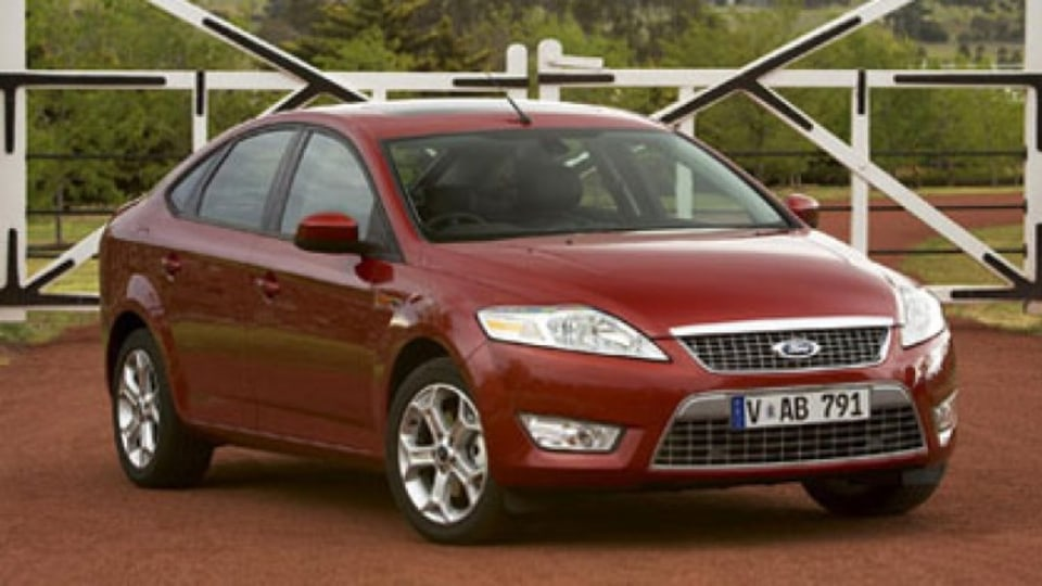 The Ford Mondeo.