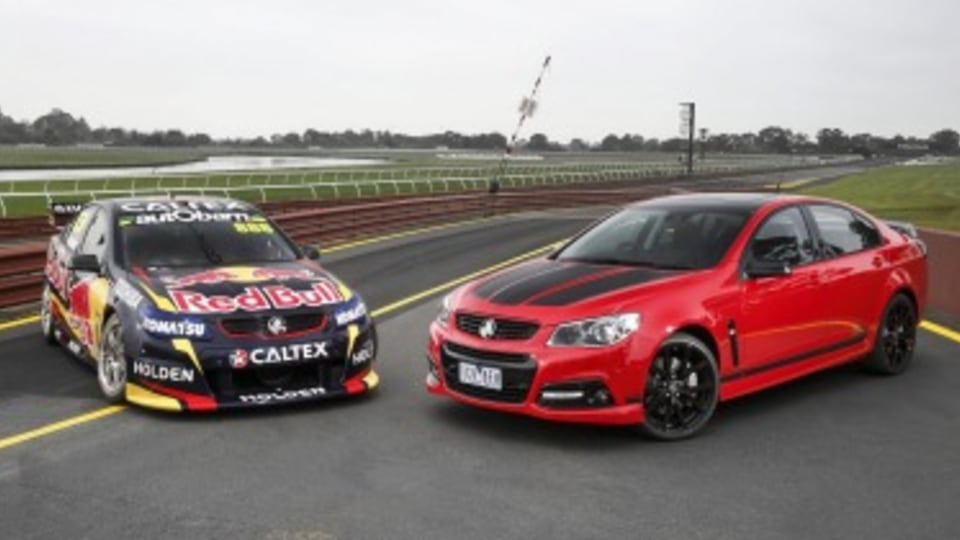We drive Craig Lowndes' Commodores