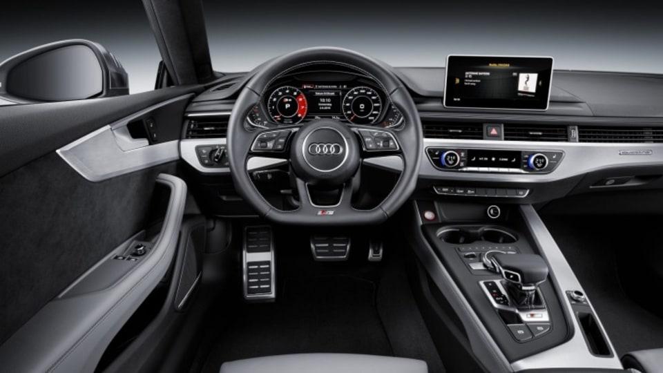 Cockpit Audi A5 Coupe.