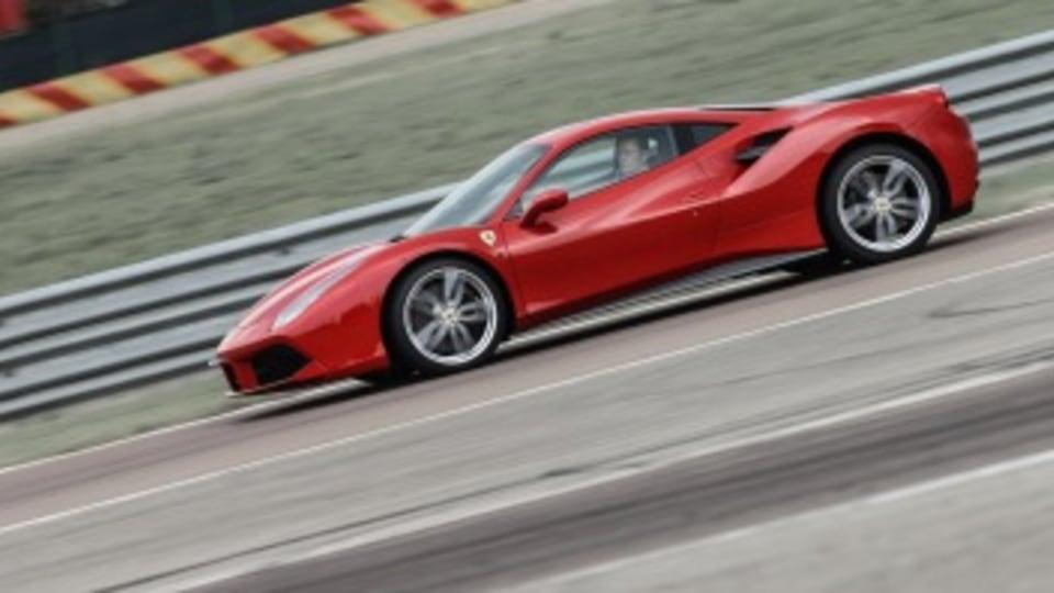 2015 Ferrari 488 GTB at Fiorano, Italy