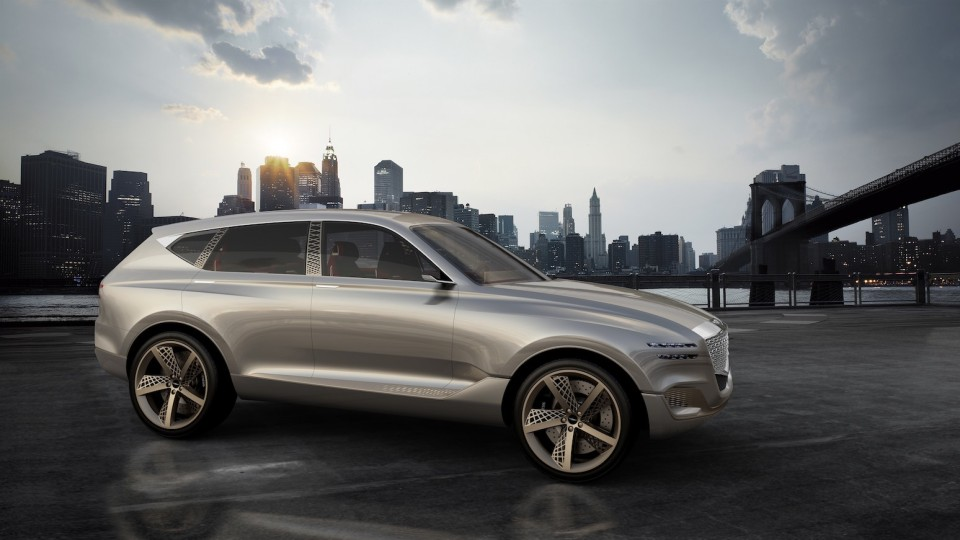 Genesis GV80 Concept Shines A Light On Future SUV