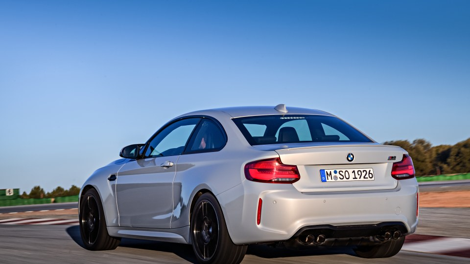 2018 BMW M2 Competition.