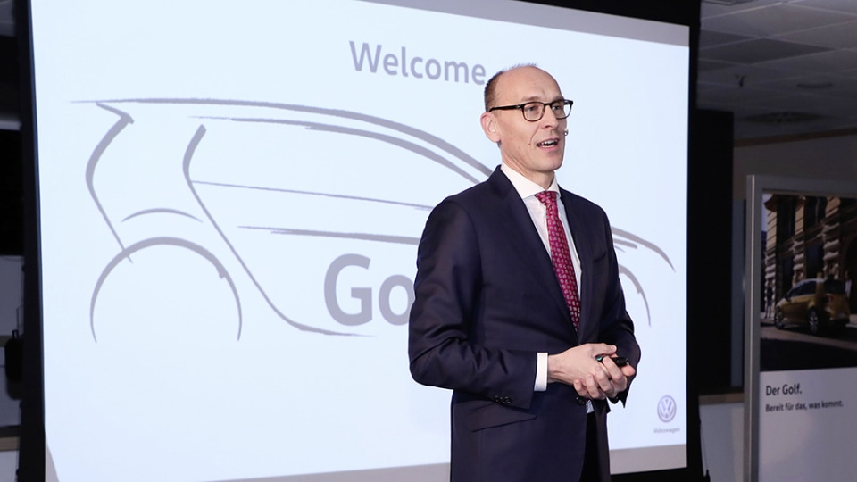 2019 Volkswagen Golf production summit