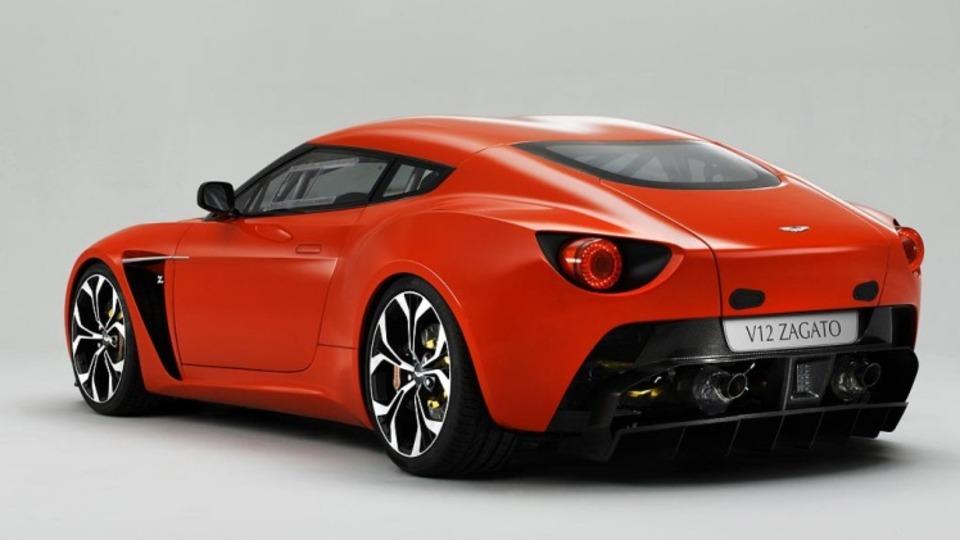 2011 Aston Martin V12 Zagato concept