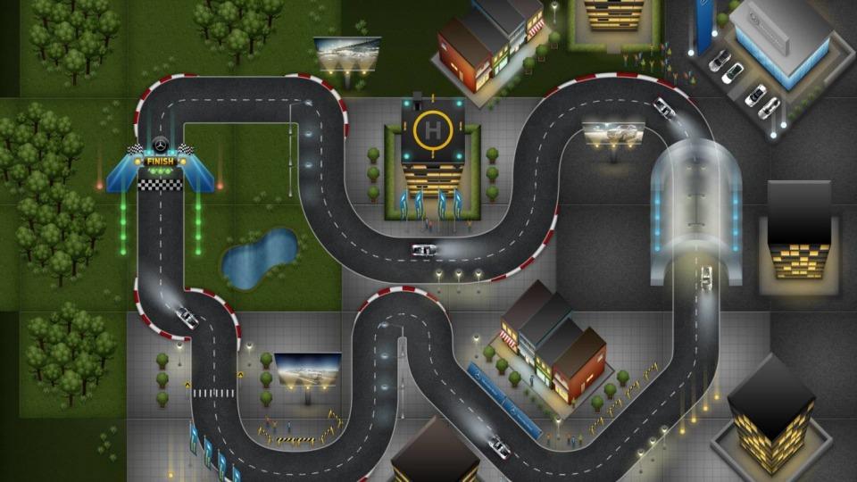 Mercedes-Benz Australia's 'Race Around The Web': Hit The TMR Track