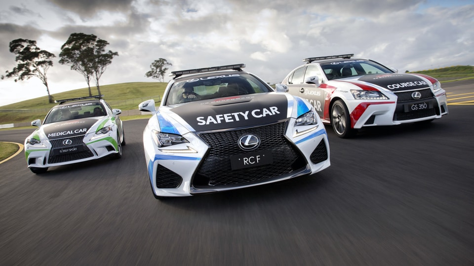 V8 Supercars: Lexus RCF Safety Car Confirmed For 2015 Series