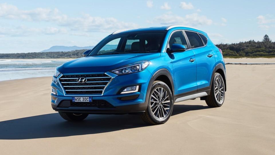 The updated Hyundai Tucson.