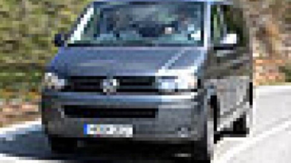 Updated Volkswagen Transporter now all diesel