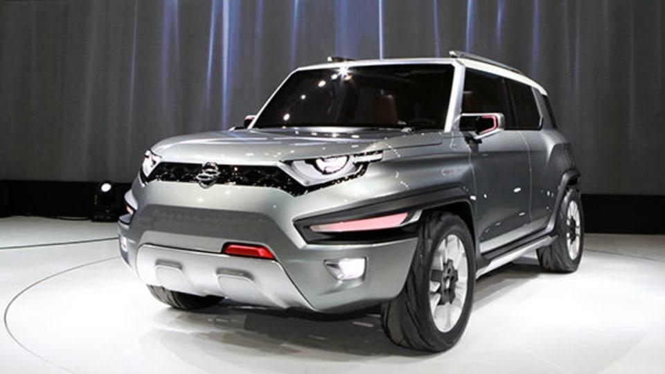 SsangYong XAV SUV Concept Unveiled