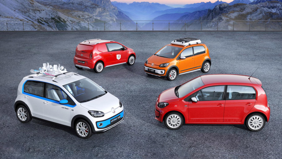 VW Setting Four New Up! Concepts Upon Geneva Motor Show