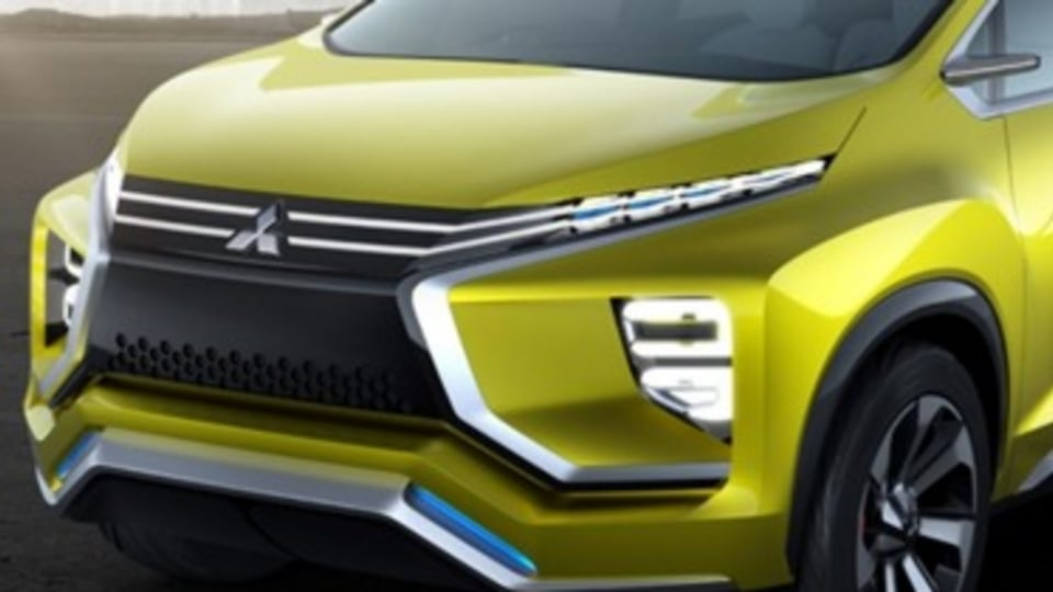 Mitsubishi unveils people mover concept