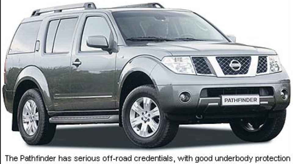 Nissan Pathfinder ST turbo diesel