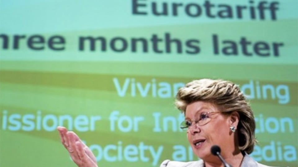 Viviane Reding at the EU headquarters 2007