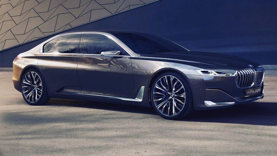 BMW 9 Series - Vision Future Luxury Concept Considered For Production
