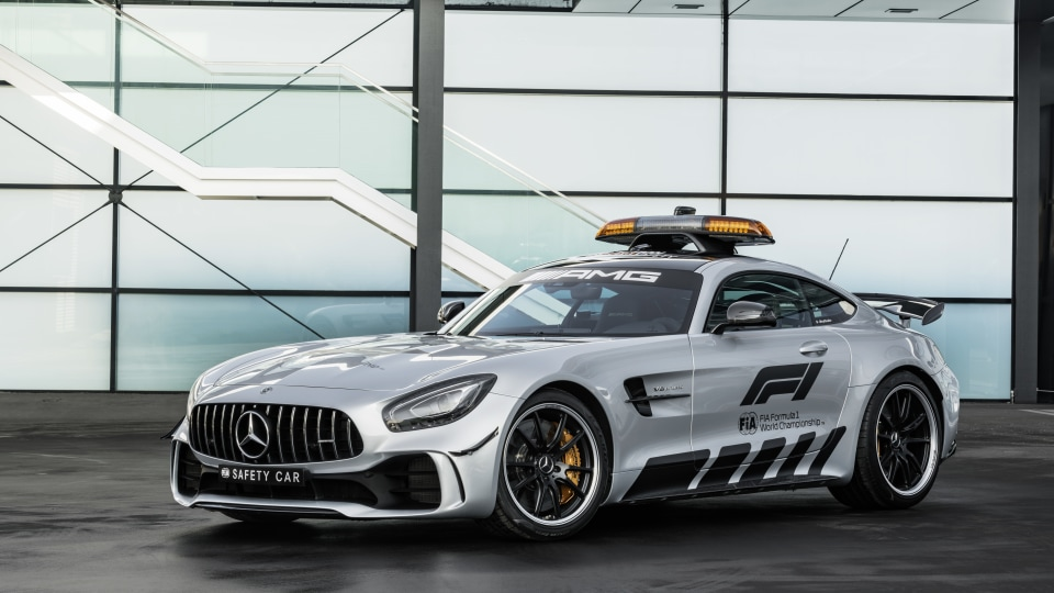 Mercedes-AMG unveils fastest-ever F1 safety car