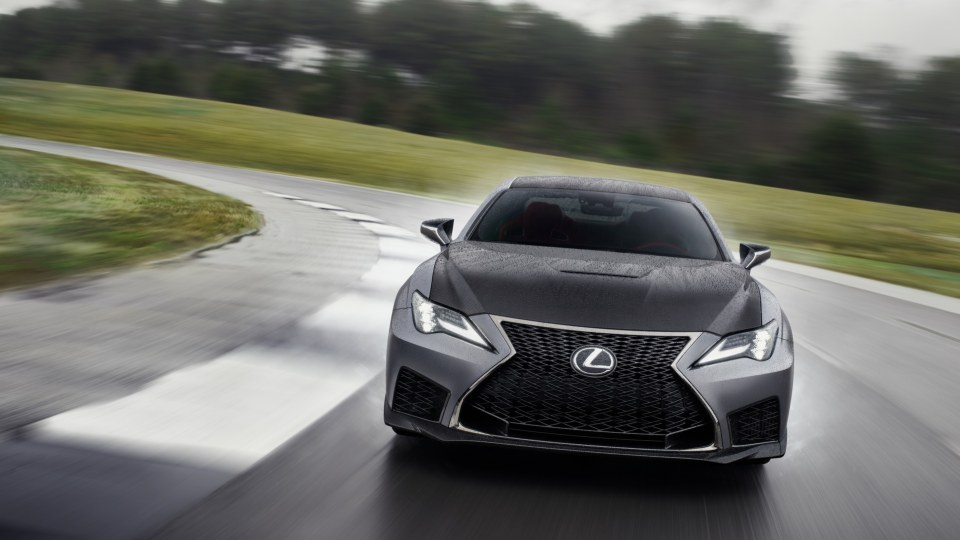 Lexus RC F Track Edition First Drive