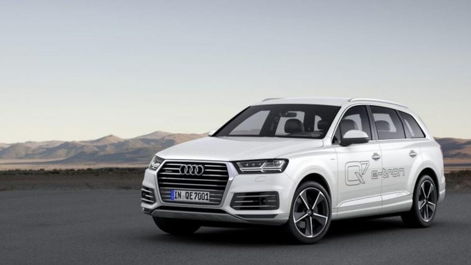 Audi Q7 e-tron quattro revealed
