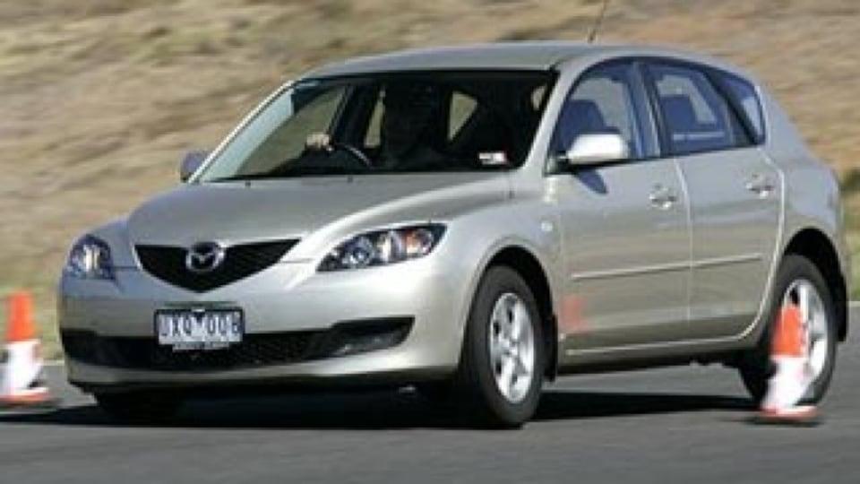 Spied: New Mazda3