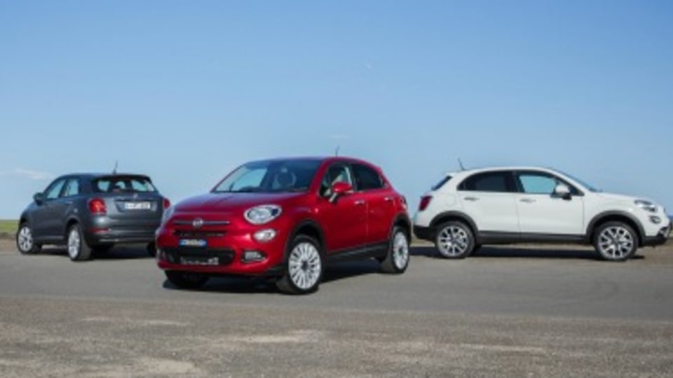 Fiat 500X range.