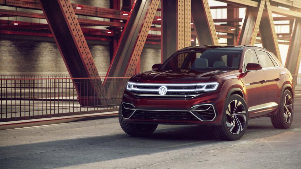 2018 Volkswagen Atlas Cross Sport