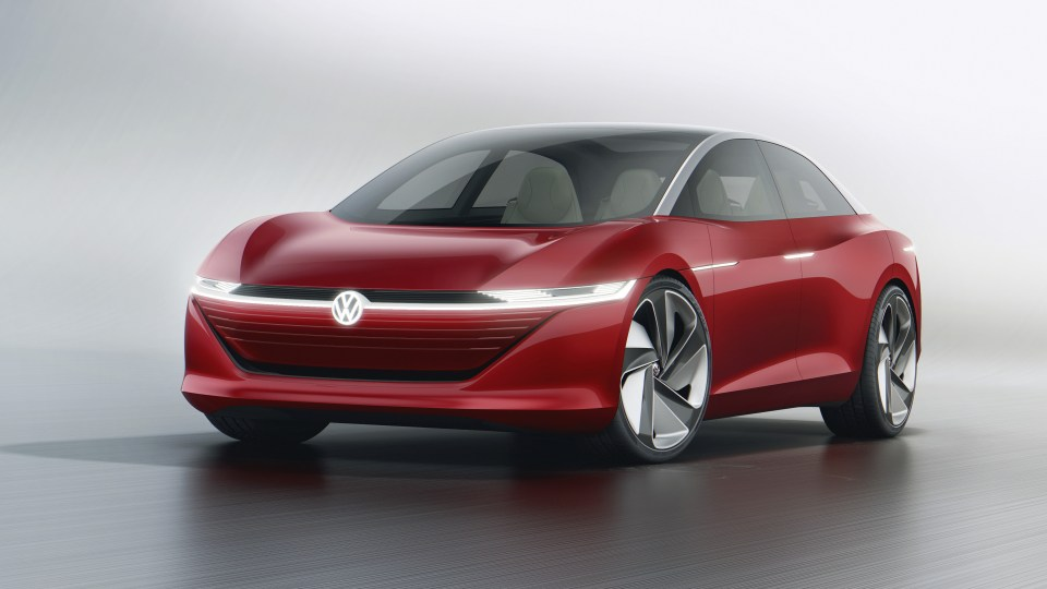 2018 Volkswagen I.D. Vizzion concept revealed