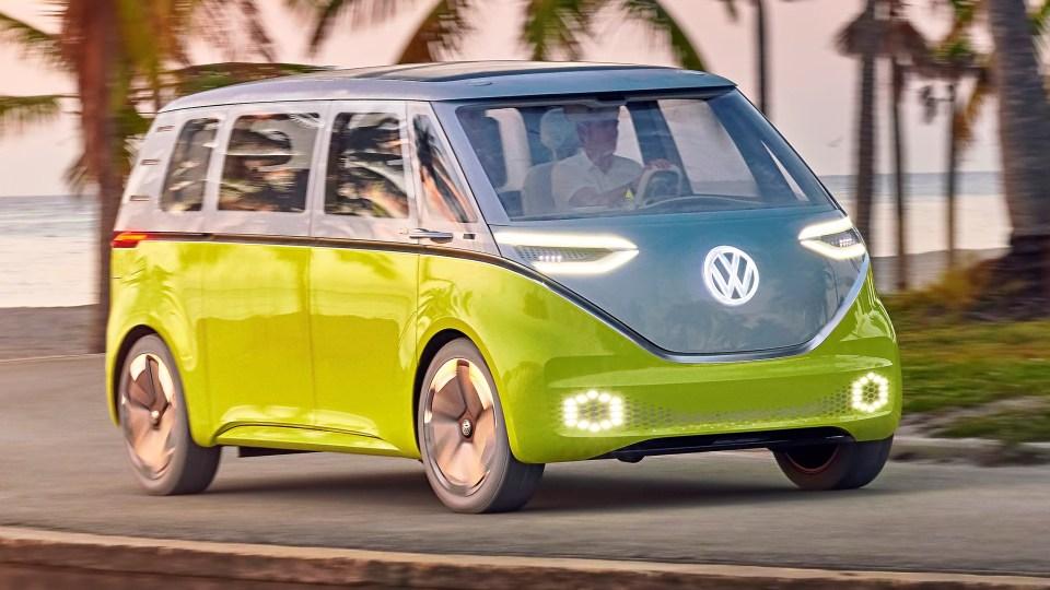 Drive Best 2017 Concept Car Volkswagen ID Buzz