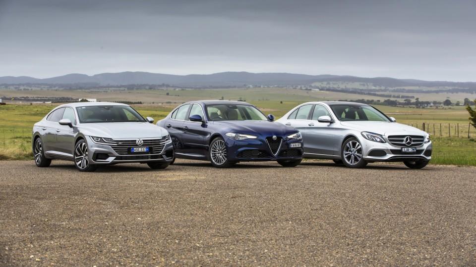 Drive 2017 Best Luxury Car Under $80k group shot