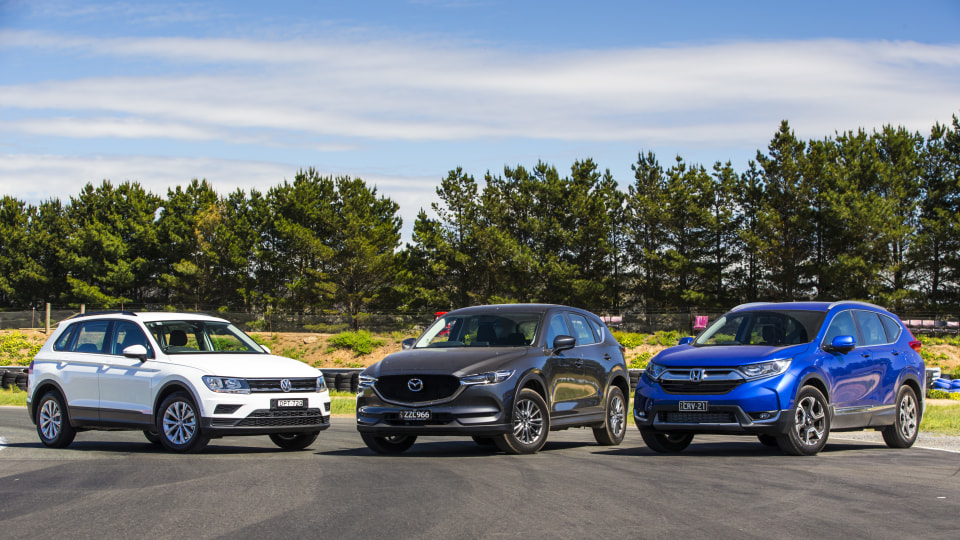 Drive 2017 Best Small SUV group shot