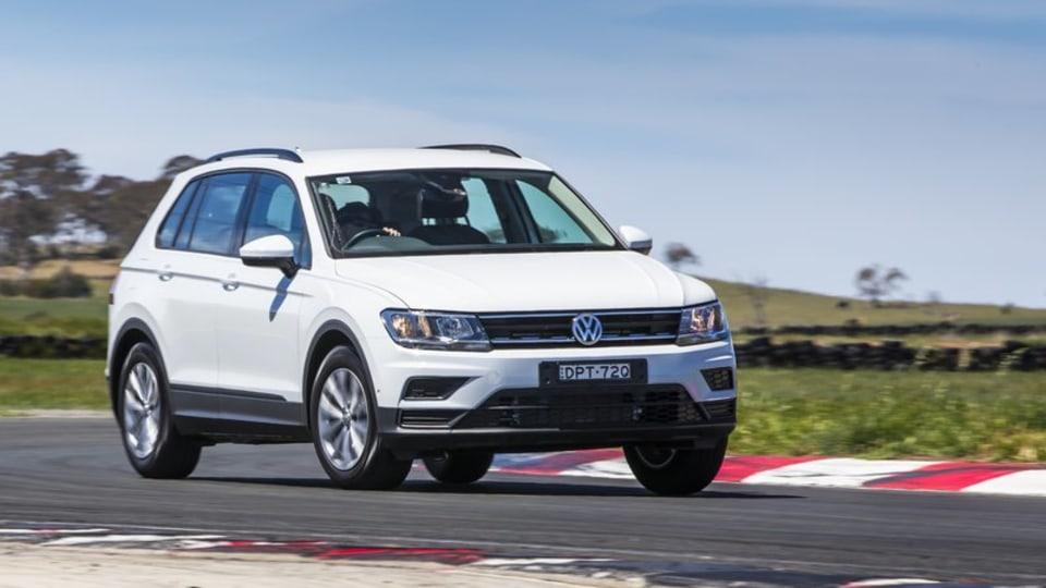Drive 2017 Best Small Suv Volkswagen Tiguan 110TSI Trendline front exterior