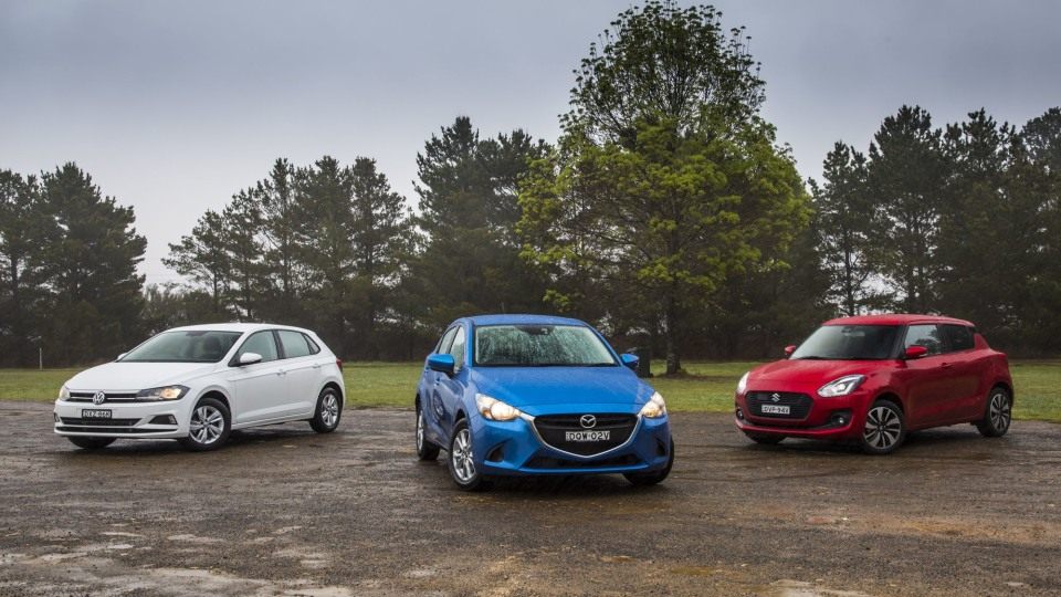 Drive 2018 Best City Car group shot