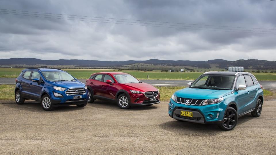 Drive 2018 Best City SUV group shot