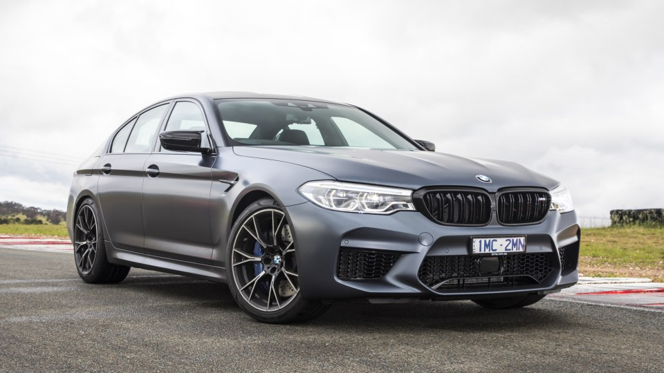 Drive 2018 Best Performance Car Over $60,000 BMW M5 Competition