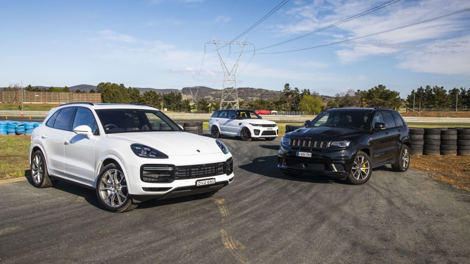 Drive 2018 Best Performance SUV group shot