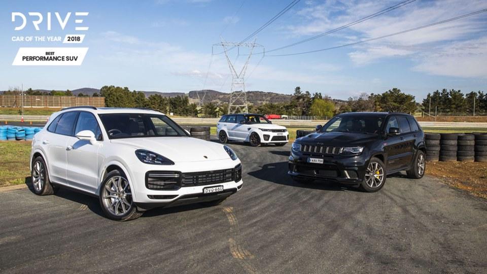 Best Performance SUV 2018 video